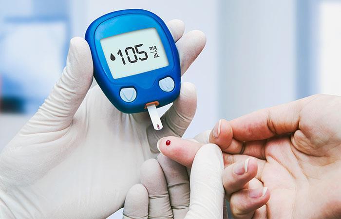 no use signos de diabetes en el andamio