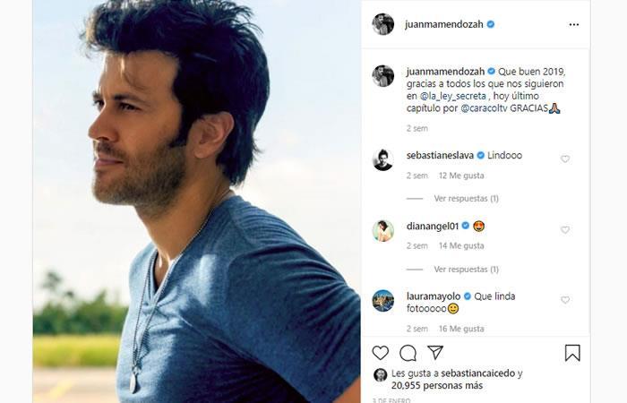Juan Manuel Mendoza El Actor Con El Que Relacionan Amorosamente A Melina Ramirez